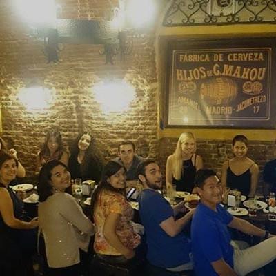 Tapas Madrid-diner