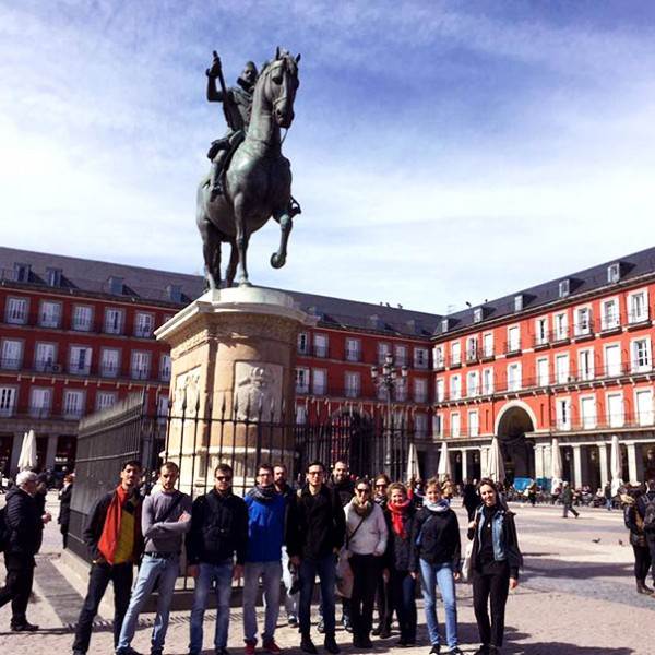 free walking tour Madrid - plaza