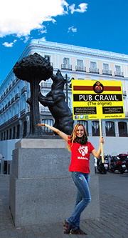 pub crawl Madrid