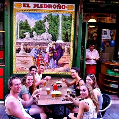 Flamenco show Madrid - Madrono bar