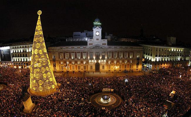 Nochevieja Madrid!  ¡Otra vez estamos acercándonos al Año Nuevo!